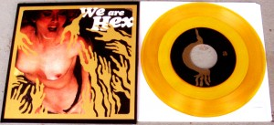 "We Are Hex - Lewd Nudie Animals [Gold] (7"", US)"