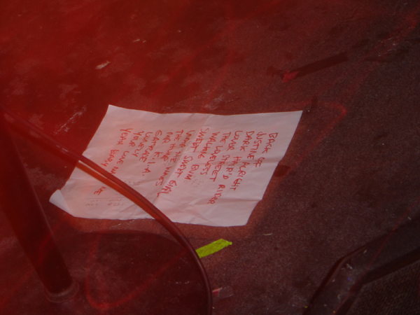 Heavy Trash – Maxwell's, Hoboken, NJ, US (18 June 2005) - Set List