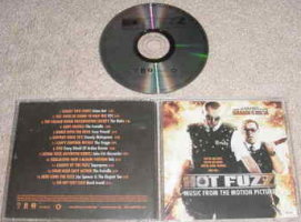 V/A feat. Jon Spencer and The Elegant Too - Hot Fuzz: Music From The Motion Picture [Promo] [#2] (CD, US)