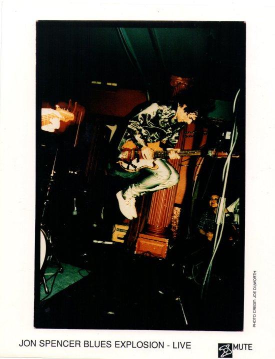 The Jon Spencer Blues Explosion - Promotional Photo [Live] [#2] (PHOTO, UK)