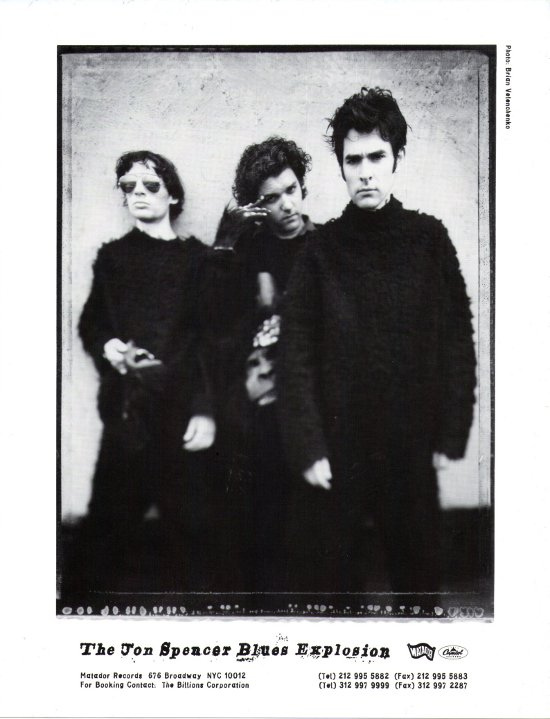 The Jon Spencer Blues Explosion - Promotional Photo [#7] (PHOTO, US)