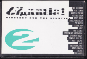 V/A feat. Pussy Galore – Gigantic!: Nineteen For The Nineties (CASSETTE, UK) - Front