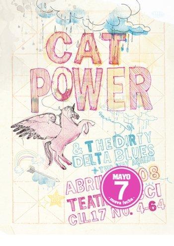 Cat Power & Dirty Delta Blues - Teatro Ecci, Bogotá, Columbia (7 May 2008)