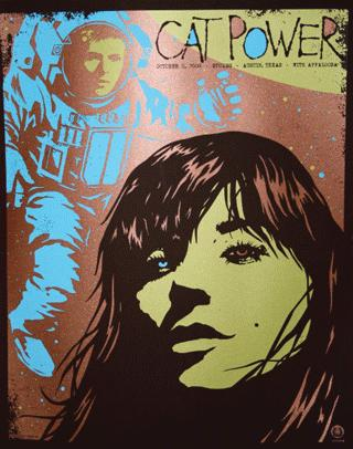 Cat Power & Dirty Delta Blues - Stubbs BBQ, Austin, TX, US (11 October 2008)