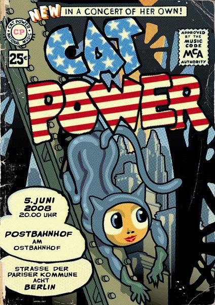 Cat Power & Dirty Delta Blues - Postbahnhof, Berlin, Germany (5 June 2008)