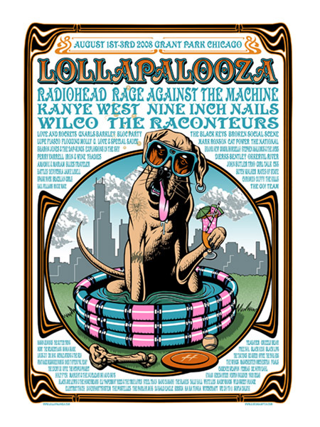 Cat Power & Dirty Delta Blues - Lollapalooza, Grant Park, Chicago, IL, US (1 - 3 August 2008)
