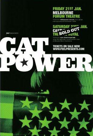 Cat Power & Dirty Delta Blues - Forum Theatre, Melbourne / Theatre Royal, Castlemaine, Australia (21/22 January 2013)