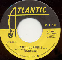 """The Cardinals - Wheel of Fortune (7"""", US)"""