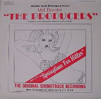 Mel Brooks - The Producers: The Original Soundtrack Recording (LP, US)