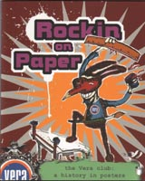 V/A feat. The Jon Spencer Blues Explosion - Rockin' On Paper: The Vera Club: A History In Posters (BOOK/DVD, NETHERLANDS) - Cover