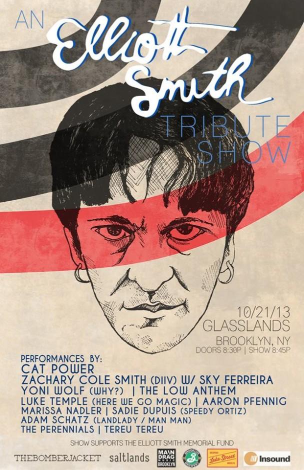 Cat Power – Elliott Smith Tribute Show @ Glasslands, New York, US (21 October 2013)