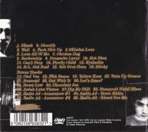 The Jon Spencer Blues Explosion - Now I Got Worry [2010] (CD, UK) -  Rear
