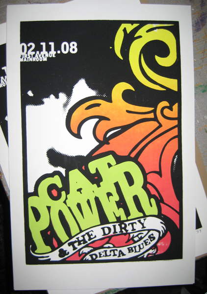 Cat Power & Dirty Delta Blues - First Avenue, Minneapolis, MN, US (11 February 2008)