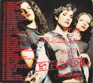 The Jon Spencer Blues Explosion - Year One (CD, UK) - Rear