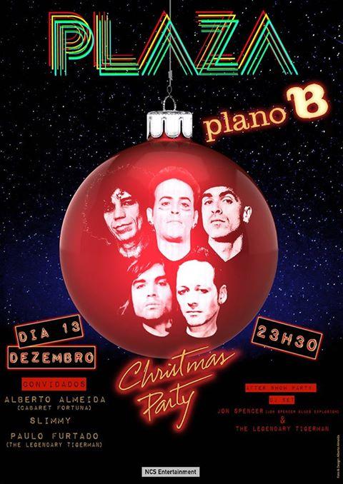Jon Spencer & The Legendary Tigerman (DJ Sets) - Plano B, Porto, Portugal (13 December 2013)