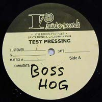 Boss Hog - Cold Hands [Test Pressing] (LP, US)