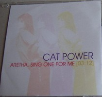Cat Power - Aretha, Sing One For Me [Promo] [#2] (CD, US) - Cover