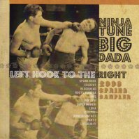 V/A feat. Coldcut - Ninja Tune Big Dada Spring Sampler 2006 (Left Hook To The Right) (CD, UK) - Cover