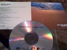 V/A feat. Japanese Popstars - EMI New MUsic: Summer 2010 [Promo] (CD, UK)