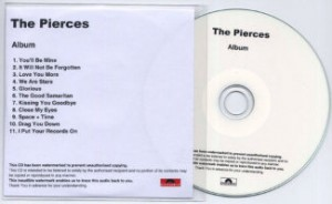 The Pierces – Album [You & I] [Promo] [#1] (CD, UK)