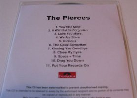 The Pierces - Album [You & I] [Promo] [#2] (CD, UK)