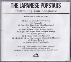 Japanese Popstars - Controlling Your Allegiance [Promo] (CD, US)