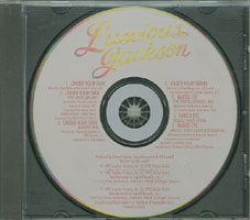 Luscious Jackson - Under Your Skin [Promo] (CD, US) - Cover