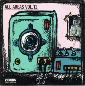 V/A feat. Russell Simins - All Areas Vol. 12 (CD, GERMANY) - Cover