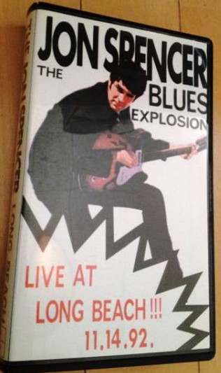 The Jon Spencer Blues Explosion - Live at Long Beach [Bootleg] (DVD, US) - Cover