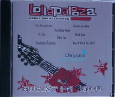 V/A feat. Tiny Masters of Today - Lollopolooza 2008: Chrysalis Music Sampler (CD, US) - Cover