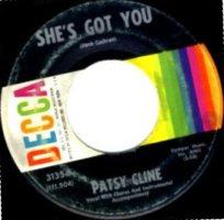 """Patsy Cline - She's Got You (7"""", US)"""