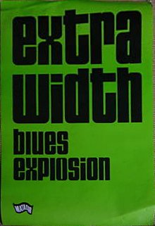 The Jon Spencer Blues Explosion - Extra Width (POSTER, US)