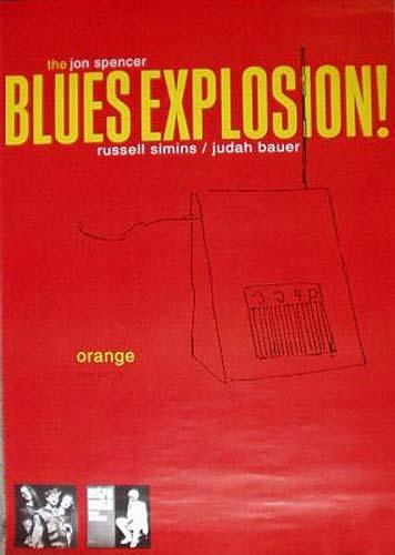 The Jon Spencer Blues Explosion - Orange (POSTER, GERMANY)