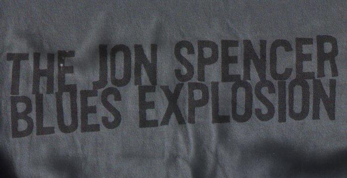 The Jon Spencer Blues Explosion - Plastic Fang (SHIRT, UK) - Rear - Close-Up