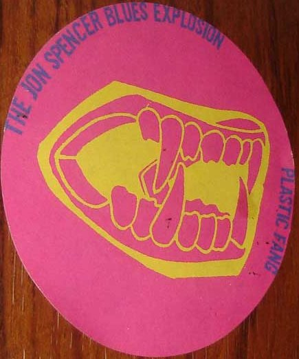 The Jon Spencer Blues Explosion - Plastic Fang (LOGO, US)