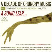V/A feat . The Tremolo Beer Gut - A Decade of Crunchy Music: A Sonic Leap... (2xCD, DENMARK)