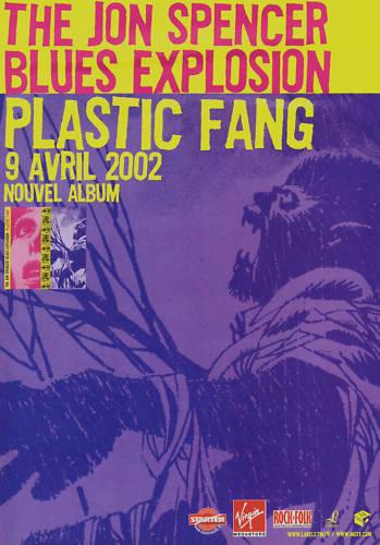 The Jon Spencer Blues Explosion - Plastic Fang (POSTER, FRANCE)