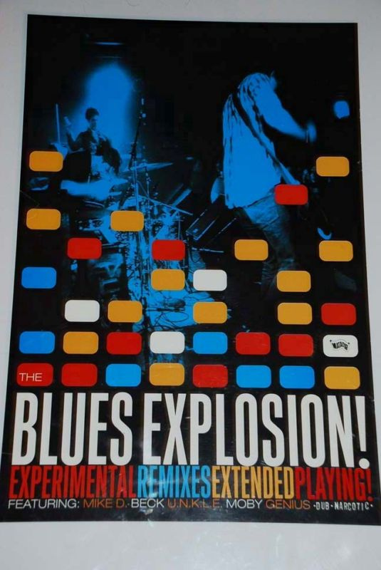 Jon Spencer Blues Explosion - Reissues (POSTER, US)