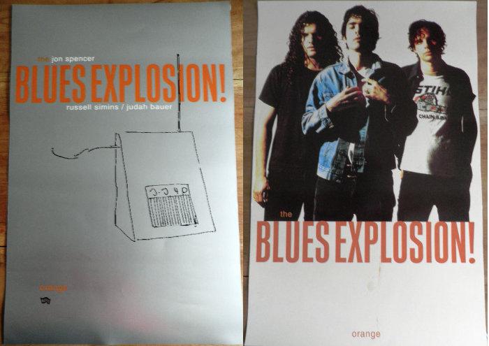 The Jon Spencer Blues Explosion - Orange (POSTER, US)
