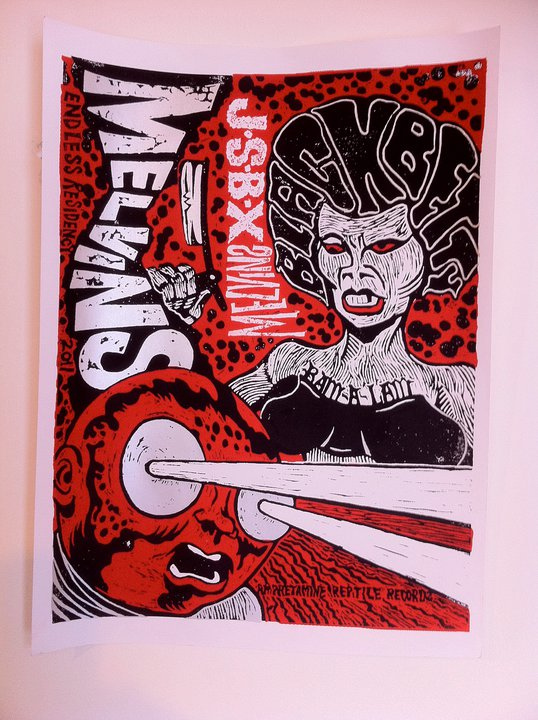 Melvins /  The Jon Spencer Blues Explosion -  Black Betty (POSTER, US) - Poster