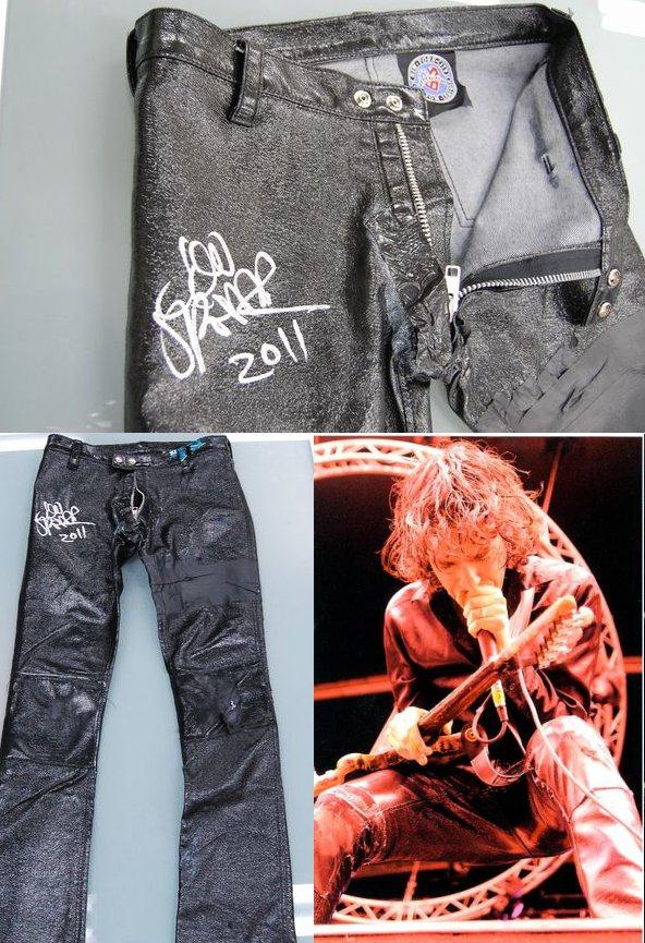 Jon Spencer / Jon Spencer Blues Explosion - Rubberized Denim Trousers (MISCELLANEOUS, JAPAN)