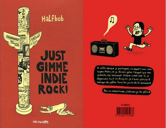 Half Bob – Gimme Indie Rock feat. Elton John Spencer Blues Explosion (BOOK, FRANCE) - Cover / Rear