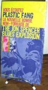 Jon Spencer Blues Explosion - Plastic Fang (PROMO SHEET, FRANCE)