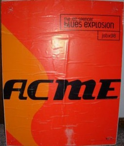 The Jon Spencer Blues Explosion - Acme (POSTER, US)