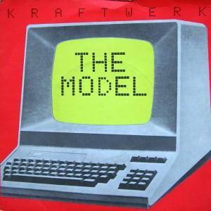 "Kraftwerk - The Model / Computer Love (7"", US) - Cover"