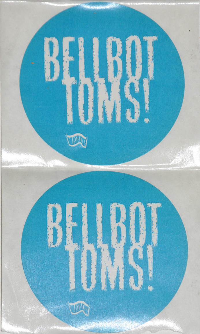 The Jon Spencer Blues Explosion - Bellbottoms (STICKER, US)