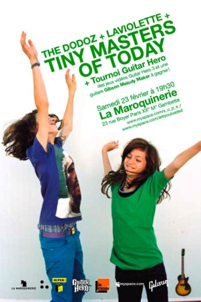 Tiny Masters of Today - La Maroquinerie, Paris, France (23 February 2008)