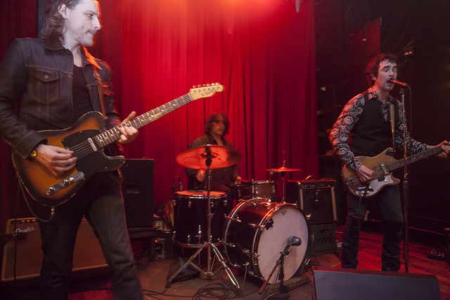 The Jon Spencer Blues Explosion – Union Pool, Williamsburg, Brooklyn, NYC, US (20 March 2014)