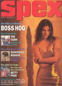 Boss Hog - Spex #4: Cover / Feature (PRESS, GERMANY)