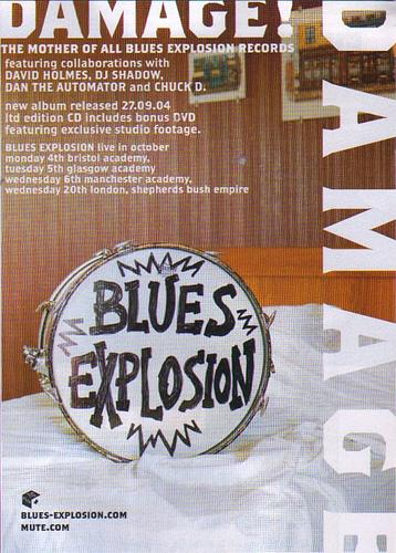 Blues Explosion - Damage (ADVERTISEMENT, UK)